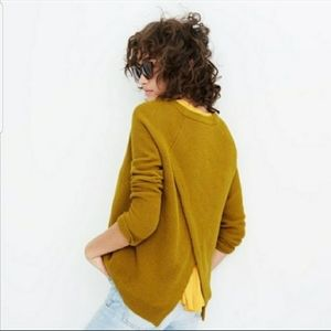 Madewell Province cross back sweater size small